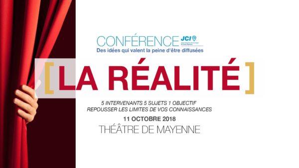 Conférence TEDx / Présentation de la monnaie libre / Théâtre de Mayenne